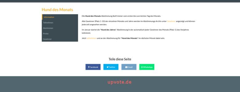 upvote-de